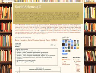 socialscience4u.blogspot.com screenshot