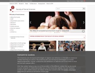 socialsciences.ku.dk screenshot