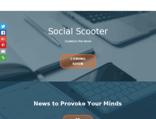 socialscooter.com screenshot