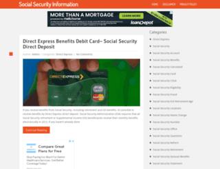 socialsecuritymyaccount.com screenshot