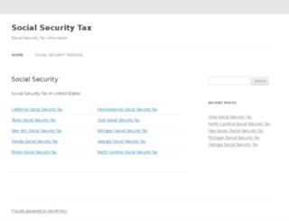 socialsecuritytax.org screenshot