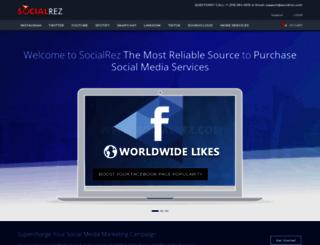 socialservicepoint.com screenshot