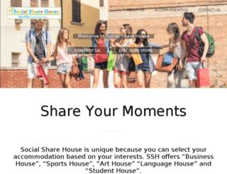 socialsharehouse.com screenshot