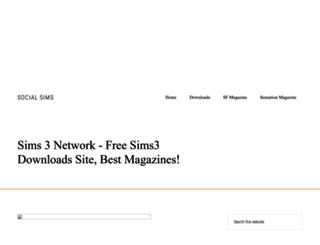 socialsims.net screenshot