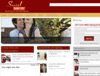 socialskills101.com screenshot