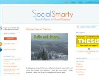 socialsmarty.com screenshot