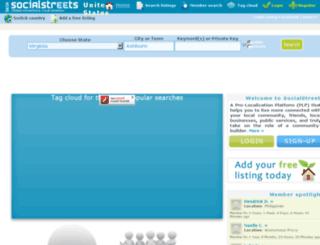 socialstreets.com screenshot