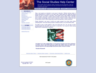 socialstudieshelp.com screenshot