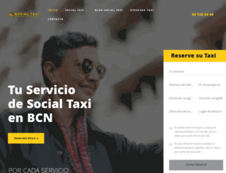 socialtaxi.es screenshot