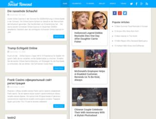 socialtimeout.com screenshot
