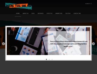 socialtoolbarpro.com screenshot