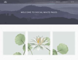 socialwhitepages.ca screenshot
