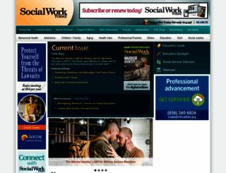 socialworktoday.com screenshot