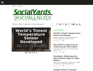 socialyards.com screenshot