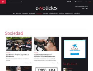 sociedad.e-noticies.es screenshot
