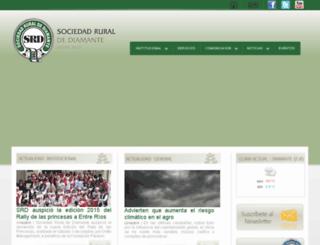 sociedadruraldte.com.ar screenshot