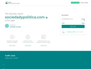 sociedadypolitica.com screenshot