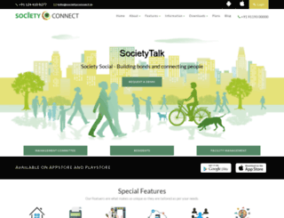 societyconnect.in screenshot