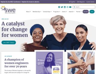 societyofwomenengineers.swe.org screenshot