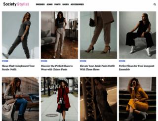 societystylist.com screenshot