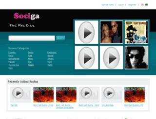 sociga.com screenshot
