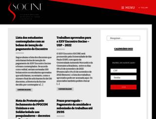 socine.org.br screenshot