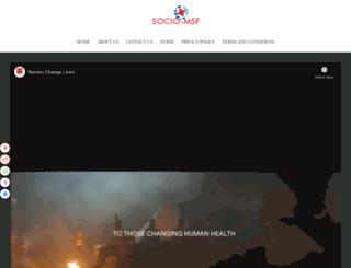 socio-msf.org screenshot