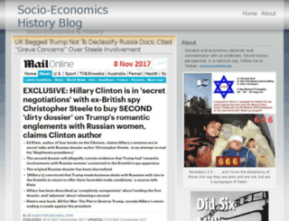 socioecohistory.wordpress.com screenshot