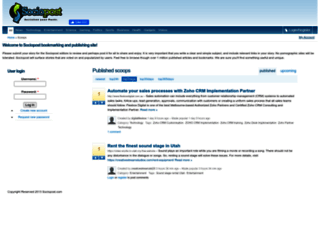 sociopost.com screenshot