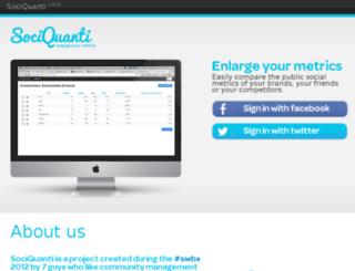 sociquanti.com screenshot