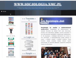 socjologia.xmc.pl screenshot