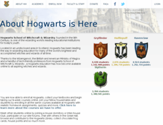 sockets.hogwartsishere.com screenshot