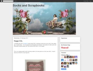 socksandscrapbooks.blogspot.com screenshot