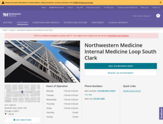 soclark.nm.org screenshot