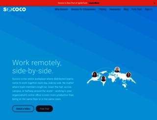 sococo.com screenshot