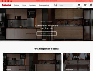 socoda.com.co screenshot
