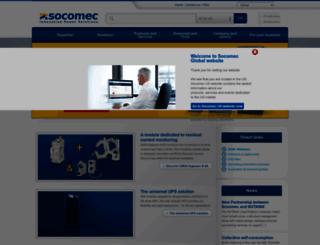 socomec.com screenshot