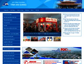 socongthuong.angiang.gov.vn screenshot