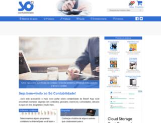 socontabilidade.com.br screenshot