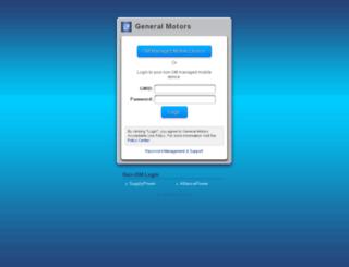 socrates.gm.com screenshot