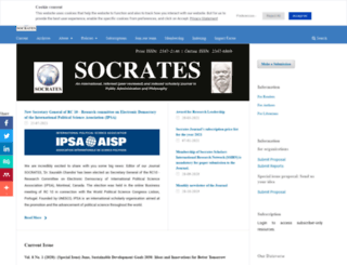 socratesjournal.com screenshot