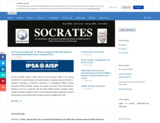 socratesjournal.com screenshot