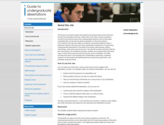 socscidiss.bham.ac.uk screenshot