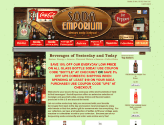 soda-emporium.com screenshot