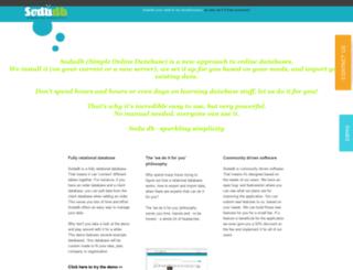 sodadb.com screenshot
