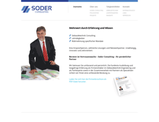 soder-consulting.ch screenshot