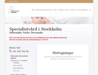sodermalmslakarhus.se screenshot