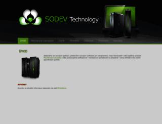 sodev.eu screenshot