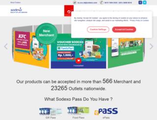 sodexomerchant.com screenshot