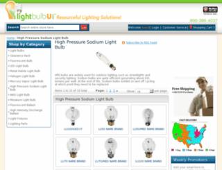 sodiumbulbs.com screenshot